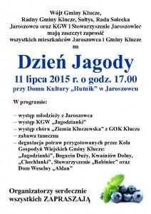PLAKAT JAGODA 2015 JAROSZOWIEC-Page-1